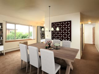 Modern dining room by Staging Casa Modern