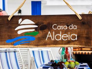 Balkon, Beranda & Teras Gaya Rustic Oleh alma portuguesa Rustic