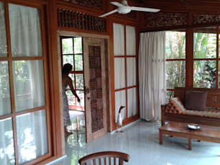 casa de campo estilo japones por comprar en bali Asiático