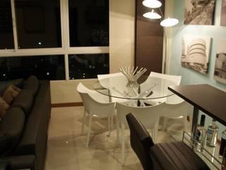 Dining room by OMAR SEIJAS, ARQUITECTO, Minimalist