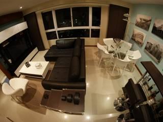 Living room by OMAR SEIJAS, ARQUITECTO, Minimalist