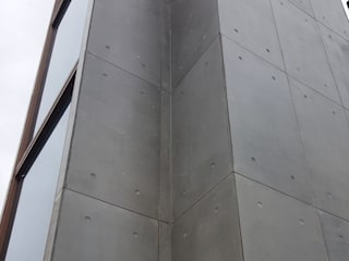 Concrete Facade Outdoor Cladding with CRETOX Beton Panel:  Walls by CRETOX Concrete Panels by NETEREN Co.Ltd.