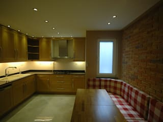 Kitchen by İndeko İç Mimari ve Tasarım, Modern