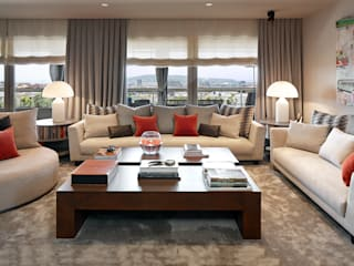 Modern living room by Molins Design Modern