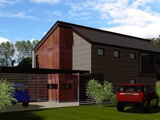 Casas de estilo colonial de ARQvision BIM Sustainable Architecture Colonial