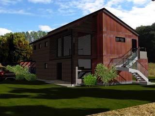 : Casas de estilo  por ARQvision BIM Sustainable Architecture