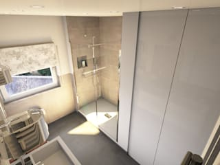 Das komplette Badezimmer — zum Festpreis und mit Termingarantie: moderne Badezimmer von Bad Campioni