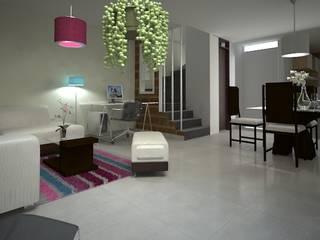 Modern living room by EcoDESING S.A.S DISEÑO DE ESPACIOS CON INGENIO Modern