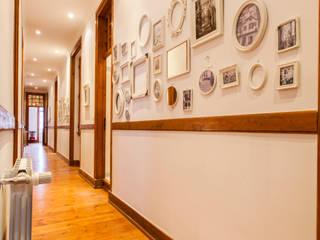 alma portuguesa Couloir, entrée, escaliers rustiques