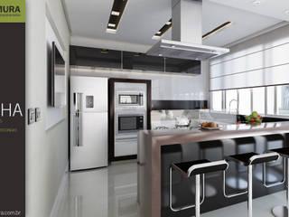 Cocinas modernas: Ideas, imágenes y decoración de Rodrigo Kamimura - Arquitetura e Design Moderno