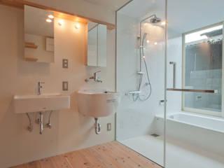 神戸町の家 ラスティックスタイルの お風呂・バスルーム の FrameWork設計事務所 ラスティック