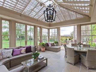 Perfectly Proportioned Georgian Orangery Konservatori Klasik Oleh Vale Garden Houses Klasik