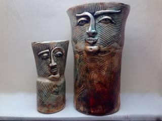 I WONDER WHO WEARS THE TROUSERS…   :   by Ceramic Language. Adriana Sambrano