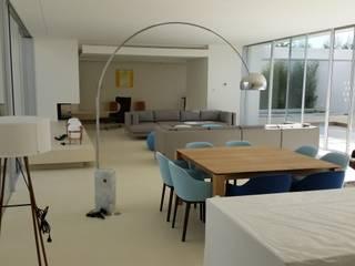 Trabajos de Microcemento Trabajo en Marbella: Salones de estilo  de ECONCRET