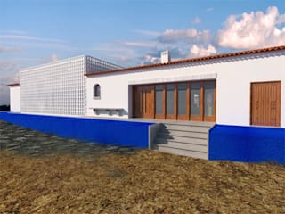 Country style house by Grupo Norma Country