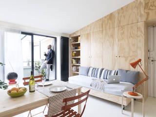 Livings de estilo moderno de studio wok Moderno