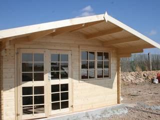 Caseta de madera modelo England de Palmako de Hortum
