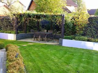 Contemporary Garden Design Bracknell, Berkshire Modern garden by Linsey Evans Garden Design Modern