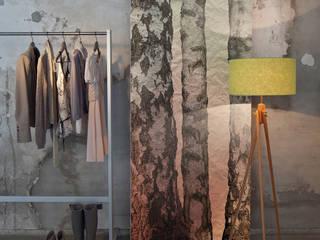 Architects Paper Paredes y pisosPapeles pintados Acabado en madera