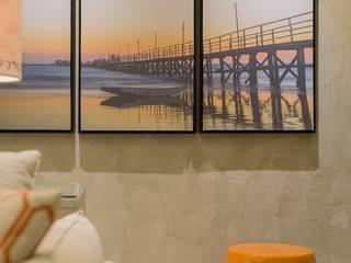Apartamento LM: Sala de estar  por Renata Matos Arquitetura & Business
