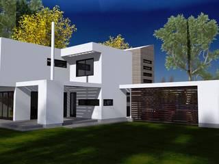 CASAS SAN JUAN DE OLIVAR Casas de estilo minimalista de ARQvision BIM Sustainable Architecture Minimalista