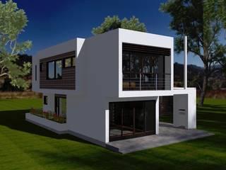 CASAS SAN JUAN DE OLIVAR: Casas de estilo  por ARQvision BIM Sustainable Architecture