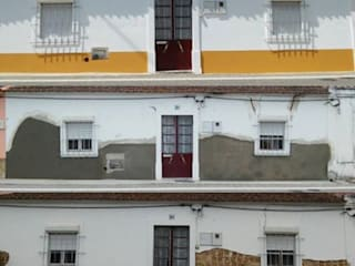Recuperação de fachada em moradia muito antiga (S. João da Ribeira/Rio Maior) por Atádega Sociedade de Construções, Lda