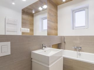 Pogotowie Projektowe Aleksandra Michalak Scandinavian style bathroom