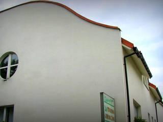 ARCHITEKCI KOJDER Ruang Komersial Gaya Mediteran