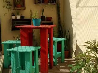 Conservatory by Pequeños Proyectos, Rustic