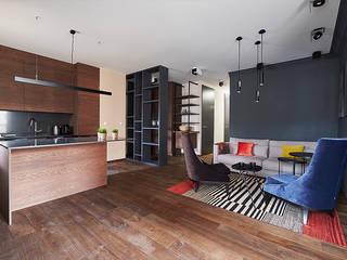 Salas de estilo topical por Pracownia Projektowa Hanna Kłyk