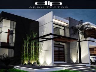 CASA FC Casas modernas de dlp Arquitectos Moderno