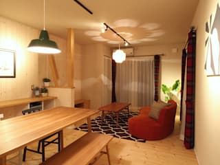 Scandinavian style dining room by dwarf Scandinavian