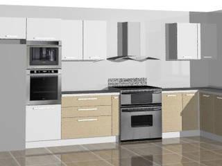 Cocina en vivienda vacacional:  de estilo  por Loft 5101 F.P.