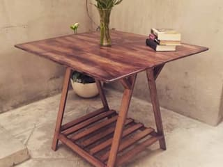 Departamento Seis Dining roomTables خشب Wood effect