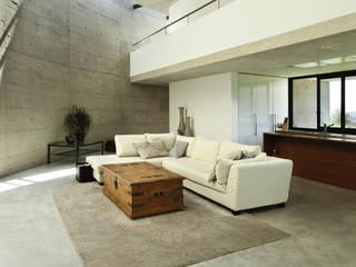 Beton Cire : styl , w kategorii  zaprojektowany przez Studio Stylizacji Wnętrz i Wizerunku