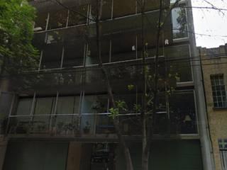 Edificio de departamentos en la Condesa Casas minimalistas de Atelier X Minimalista