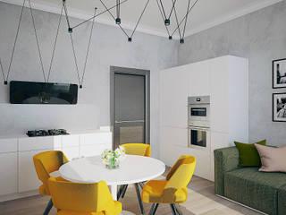 Eclectic style kitchen by МайАрт: ремонт и дизайн помещений Eclectic