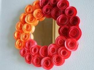 Canım Anne – Ayna çerçevesi süsleme yapımı fikirleri 20 adet:  tarz