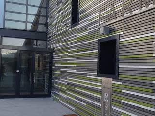 Moderne kantoor- & winkelruimten van RIZZINELLI & VEZZOLI ARCHITETTI ASSOCIATI Modern