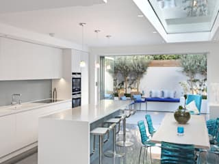 Battersea Town House Modern kitchen by PAD ARCHITECTS Modern