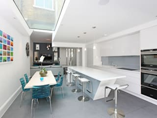 Battersea Town House Modern dining room by PAD ARCHITECTS Modern