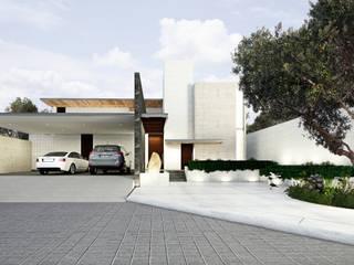 Fachada principal: Casas de estilo  por OTRA ARQUITECTURA