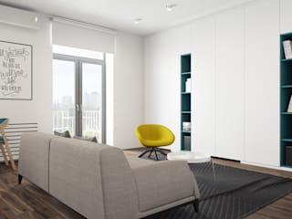 Minimalist living room by The Goort Minimalist