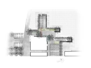 Gestaltung der Aussenanlagen eines Weingut: modern  von Ecologic City Garden - Paul Marie Creation,Modern