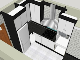 Design Left Hand Side:   by Boss Custom Kitchens (PTY)LTD