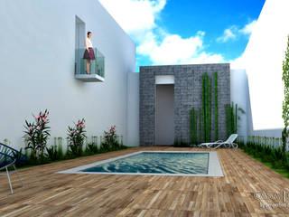 Garden by Perspectiva Arquitectos México, Modern