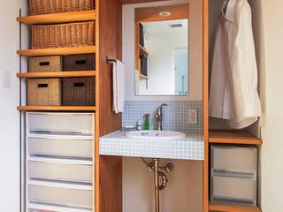祐建築設計事務所 現代浴室設計點子、靈感&圖片