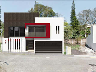 Houses by PRISMA ARQUITECTOS, Modern