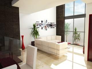 Casa Milian Casas modernas de PRISMA ARQUITECTOS Moderno